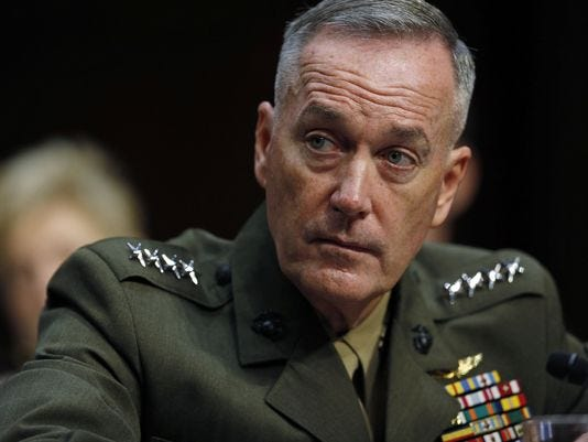 Senate confirms dunford as next joint chiefs chairman for Chair joint chiefs of staff