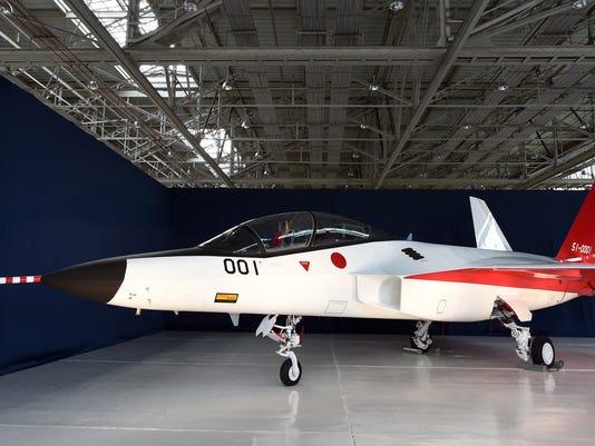 اليابان تصنع مقاتلة غير مرئية 635896086851390435-GettyImages-507186756