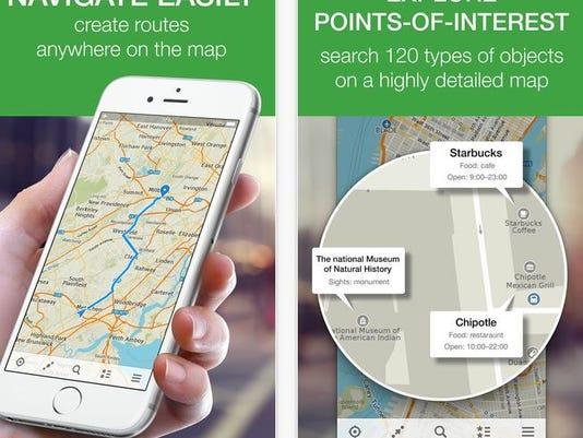 maps.me app iphone