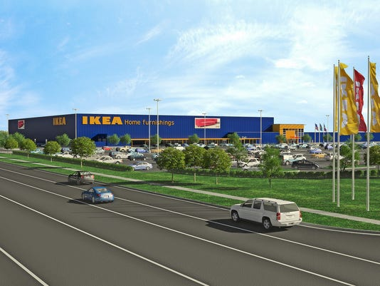 Grand prairie city council approves plans for new ikea for Ikea in dallas