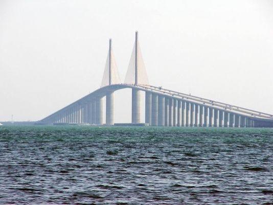 Body search near sunshine skyway for Skyway bridge fishing report