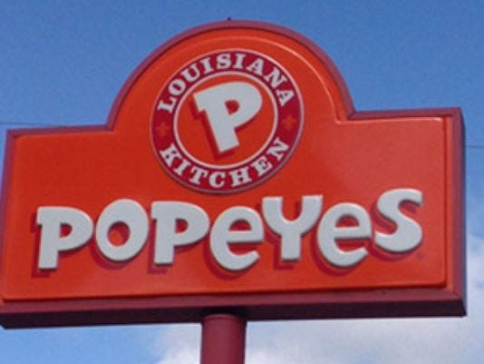 Popeyes to open second restaurant in g r this fall for Popeyes louisiana kitchen austin tx