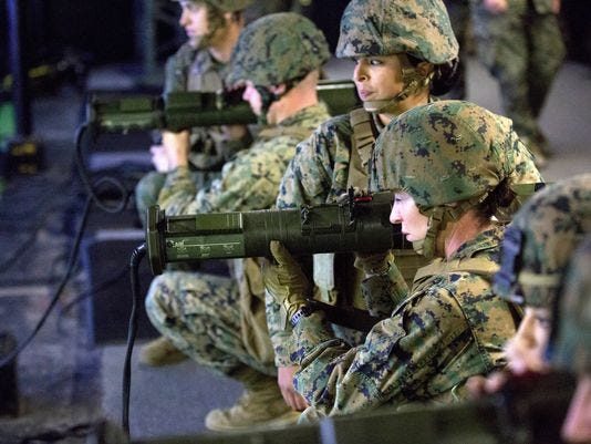 First Female Marine Applies To Join The Infantry