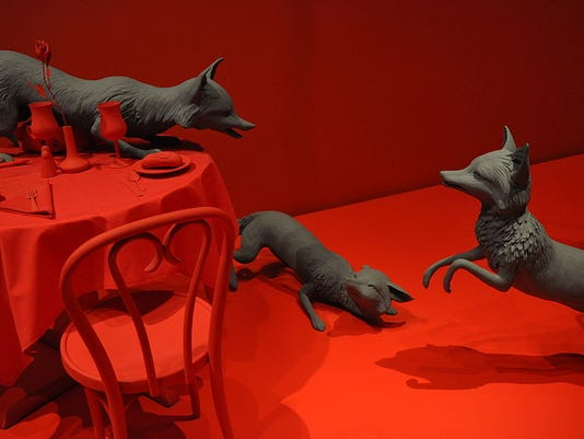 635747376040708780-800px-Fox-Games-by-Sandy-Skoglund-2