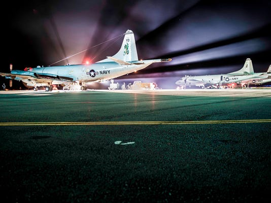 Coordinated check conducted on a P-3C Orion