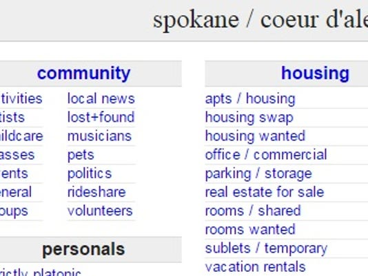 Spokane craigslist women seeking men