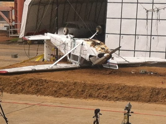 nasa langley crashes plane to test locator systems