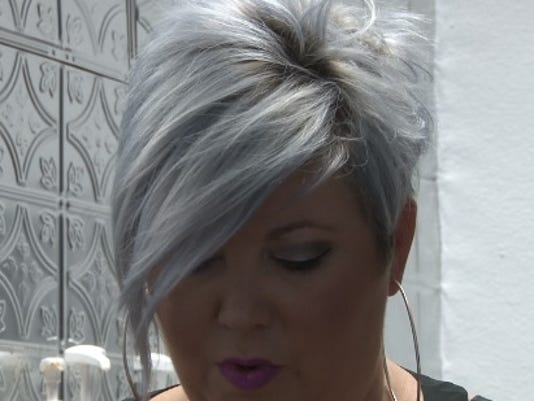 silver hair becoming growing trend with younger women