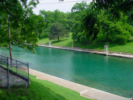 Barton Springs Pool Heads To Nyc For Gma Contest
