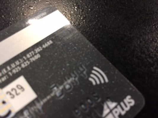 Do You Have A Wifi Looking Symbol On Your Credit Card