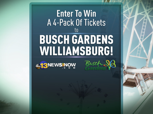Win Busch Gardens Tickets Contest Rules