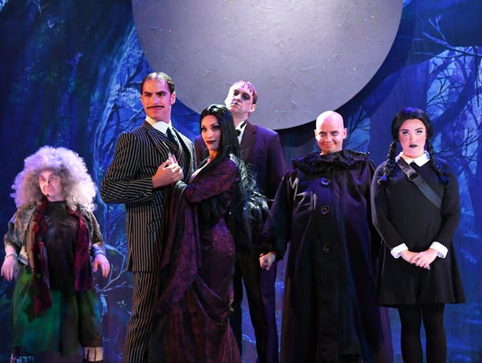 The Addams Family at Titusville Playhouse