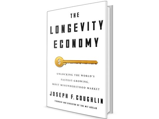 The Longevity Economy by Joseph Coughlin