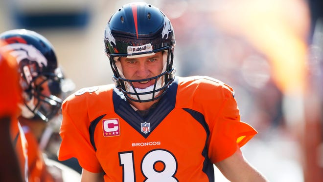 Denver Broncos quarterback Peyton Manning didn't have much to say about Colts owner Peyton Manning on Wednesday.