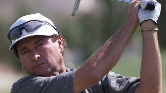 Golfer Steve Haskins in 2000.