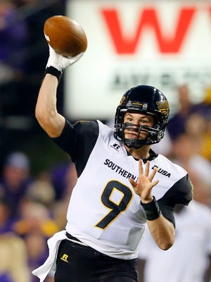 Nick Mullens and the Southern Miss Golden Eagles can get bowl eligible with a win over Charlotte this weekend.