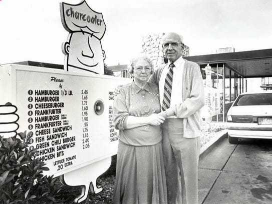 Robert Cox Sr., and his wife Wilma Cox, who started