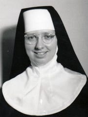 Sister Annice McClure of Green Bay, circa 1950s and '60s.