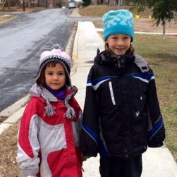 Dvora, 6, and brother Rafi Meitiv, 10, of Montgomery County, Md.