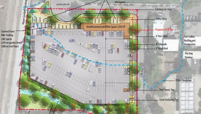 A student-housing development is proposed in Midtown Fort Collins.