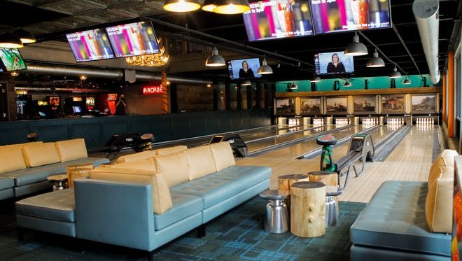 Punch Bowl Social's 16 TVs will broadcast the Red Wings game Thursday night following a party that includes a ticket giveaway.