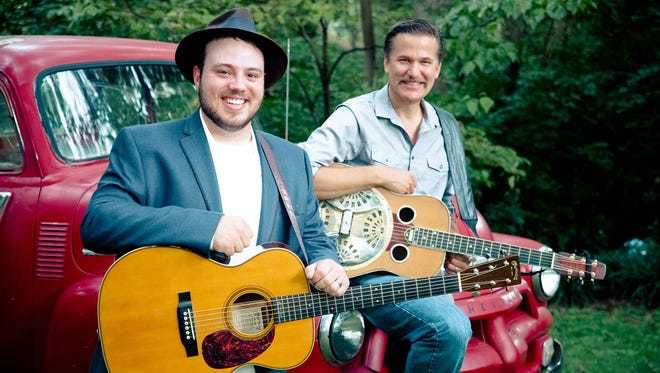 Rob Ickes and Trey Hensley combine old country instruments with new country sounds