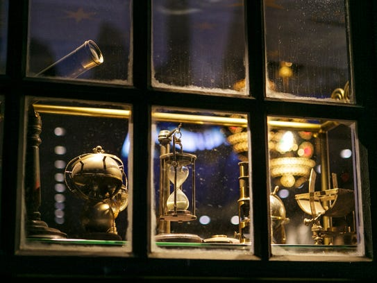 Take a peek inside the window of Wiseacre's Wizarding