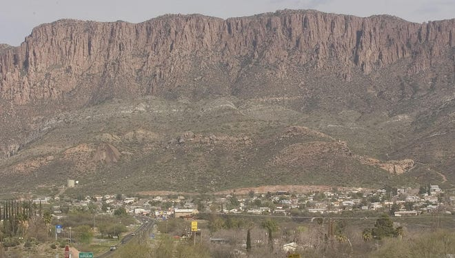 The mining town of Superior, shown here in a 2006 file photo, has high hopes that the mine which was shut down during the mid 1990s will be reopened by the Resolution Copper Co.