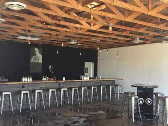 The Old Walrus cocktail lounge at Arizona Distilling