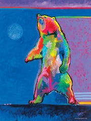 "Tim Yanke's painting, ""Standing Bear,"" evokes spiritualism"