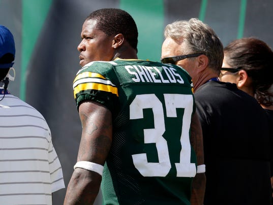 Cornerback Sam Shields leaves the field in Jacksonville back in week 1. Shields suffered a concussion, and hasn't been back since. His career is probably over, and the Packers paid him $13 million per season, as this is the final year of his 3-year, $39 million contract. A half of game this year for 13 million.