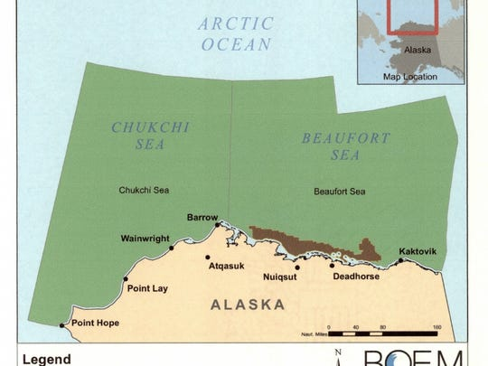 President Obama wants these areas in north of Alaska permanently off limits to offshore oil and gas drilling, to protect their ecological value.