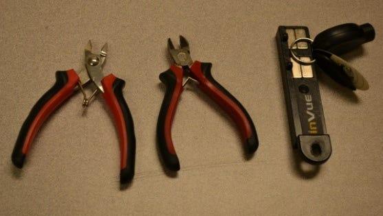 Alleged burglary tools