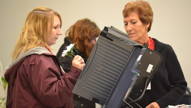 Voters went to the polls on April 7.