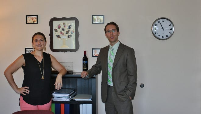 Katie and Alex Peterson of the Peterson Family Law