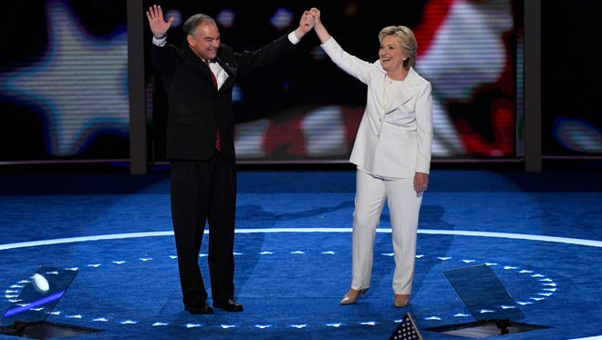 Democratic National Convention on July 28, 2016.