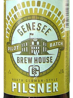 Genesee Pilsner, from Genesee Brewing Co. in Rochester, N.Y., is 5% ABV.