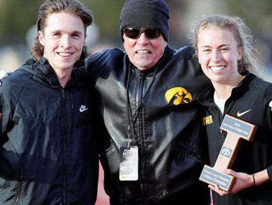 Winners of the Larry Wieczorek 1,500-meter run: Iowa
