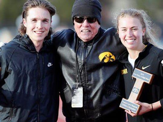 Winners of the Larry Wieczorek 1,500-meter run: Iowa