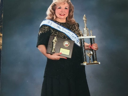 Abbie Piña, 75, was crowned Miss South Texas Senior America in 2016. She's crowning a new queen on Sunday, Feb. 25, 2018, in Harlingen.