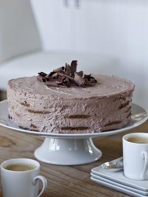 Ina Garten's Mocha Chocolate Icebox Cake.