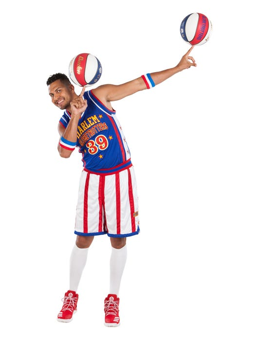 El Gato Melendez of The Harlem Globetrotters
