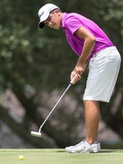 West Florida High senior Ty Aulger, shown here in the