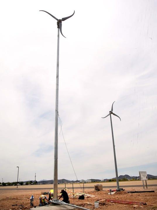 Peoria wind turbine