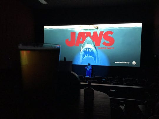 Let's do this @AlamoCorpus #jawsmovieparty #vivaCC