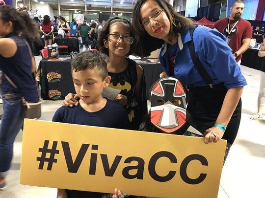 Great seeing you @mmirelez16 at @CCTXcomiccon! #VivaCC