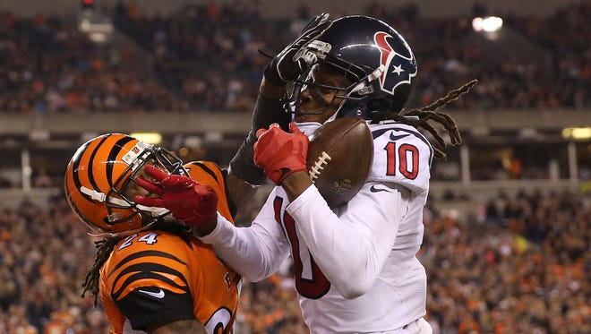 Houston Texans have played in primetime against the Bengals three straight years.