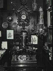 Cuckoo clocks, steins and statues —  shown in a photo
