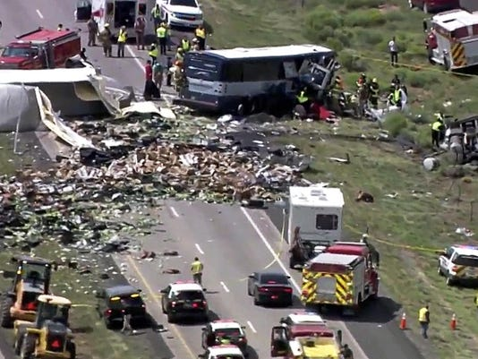 New Mexico Bus Crash