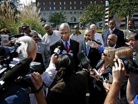 September 19, 2007 - Mayor Willie Herenton speaks to